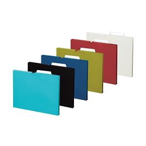 コクヨ ファイル 個別フォルダー NEOS A4 15mm 3辺とじ 6色セット A4P-NEF15X6C|adnext