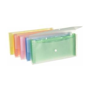 サンノート ドキュメントファイル スリムタイプ 8ポケット 1792 5色×各2冊セット|adnext