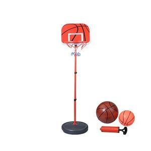 ミニ バスケットゴール 高さ調節可能 室内 屋外 バスケットボール 2個付き 子供用 バスケ 練習|adnext