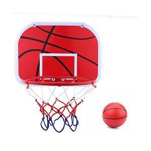 バスケットゴール 家庭用 子供用 室内 屋外 壁取り付けバスケットボード バスケットボール付き|adnext