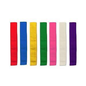 カラーたすき7色セット 運動会 体育祭 競技用品|adnext