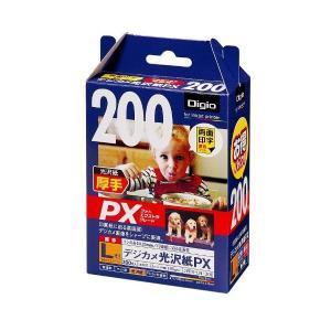 ナカバヤシ 写真用紙 デジカメ光沢紙PX L判 200枚 JPPX-LN-200|adnext
