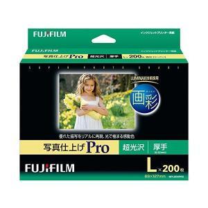 FUJIFILM 写真用紙 画彩 超光沢 厚手 L 200枚 WPL200PRO|adnext