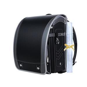 【Coulomb・クーロン・技術型】2018年度デザイン男の子向けランドセル school bag 6年品質保証付き (101 BK)|adnext