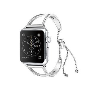 Solomo の Apple Watch バンド, おしゃれステンレス ブレスレット iWatch ...