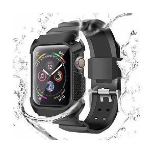 Compatible With Apple Watch Bandsバンド,ケース付きの一体式 アップルウォッチバンドwatch series 4 4 adnext