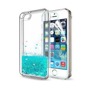 ケース Apple Iphone SE ケース カバー クリア キラキラ , LeYi ブランド かっこいい おしゃれ かわいい 人気 おもしろい|adnext