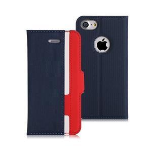 iPhone8 ケース iphone7ケース,Fyy [RFIDブロッキング] PUレザー ケース 手帳型 保護ケース カードポケット付き 横置きス|adnext