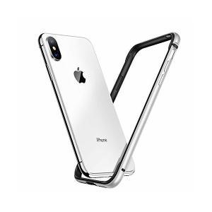 【Humixx】 iPhone Xs ケース iPhone X ケース [ アルミ シリコン ] [ レンズ保護 衝撃 吸収 ] アイフォン X 用|adnext