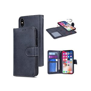 [HB-Int] iPhone Xs ケース iPhone X ケース 手帳型 カード収納 分離式 取り外し自由 iPhone X ケース 薄型 軽|adnext