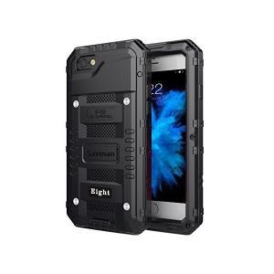 iphone 8 ケース 耐衝撃,Savman アイフォン8 カバー メタルケース 防汚 防塵 防水ケース 全面保護 (iphone 8, Blac adnext