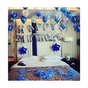 誕生日 飾り付け 風船、Happy Birthday バルーン、パーティー 装飾 風船、バースデー 飾り バルーン HB7S|adnext
