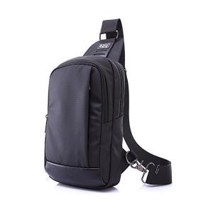 MINIBA ボディバッグ 上質防水 ナイロン メンズ 縦型 斜め掛け ウエストバッグ メッセンジャーバッグ 自転車鞄かばん|adnext