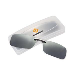 Leetaker クリップサングラス 偏光クリップ眼鏡 UVカット 夜間運転用 昼夜兼用 男女兼用|adnext