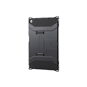 ELECOM SONY Xperia Z2 Tablet 衝撃吸収ケース フルプロテクトスタンドタイプ ブラック TBM-SOZ2AHVBK adnext