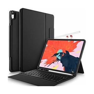 Msova iPad pro 12.9 2018 ケース iPad pro 12.9 2018 保護カバー キーボード付き 三つ折り横置きスタンド機|adnext