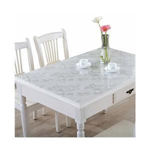 IVERNA テーブルクロス PVC製 テーブルマット デスクマット テーブルクロス 長方形 防水 撥水 耐久 汚れつきにくい (70*120, シ|adnext