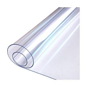 テーブルクロス 防水 アンチホット アンチオイル 使い捨て 透明なパッド プラスチックテーブルマット コーヒーテーブルマット (90 * 180 *|adnext