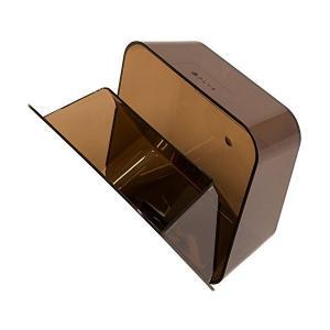 オカ PLYS base (プリス ベイス) 洗面ゴミ箱 マジックテープ付き (ブラウン)|adnext