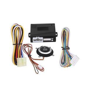 12V 車エンジンプッシュスタートストップボタン イグニッションリモートスターター ユニバーサル ワンクリック起動 装着簡単 使用便利|adnext