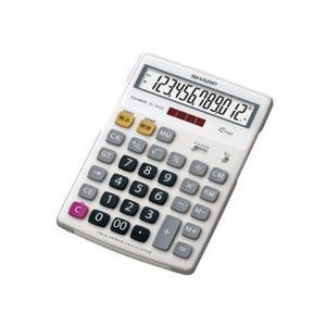 シャープ ラバーフィット電卓ナイスサイズ12桁 EL-S442X|adnext