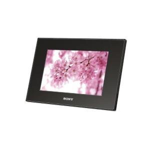 ソニー SONY デジタルフォトフレーム S-Frame A72 7.0型 内蔵メモリー128MB ブラック DPF-A72/B|adnext