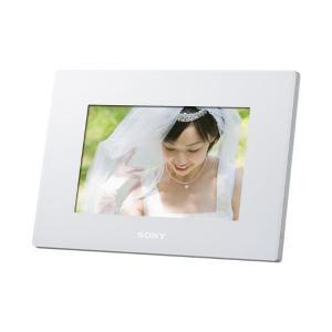 ソニー SONY デジタルフォトフレーム S-Frame D720 7.0型 内蔵メモリー2GB ホワイト DPF-D720/W|adnext
