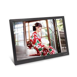 moonka 15インチ・デジタルフォトフレーム / 1280x800 HD解像度LEDバックライト液晶 / 写真・動画・音楽再生・リモコン付き /|adnext