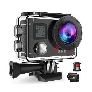 CamparkACT76 アクションカメラ 4Kアクションカメラ 1600万画素 1080PフルHD 30fps ウルトラHD 30m防水 WiF|adnext