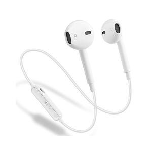 LHYAN アップグレードされたS6 Bluetoothヘッドフォン、 ワイヤレススポーツイヤホン V4.1イヤフォン 汗止め型ヘッドセット マイク adnext
