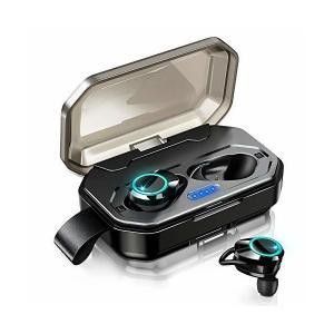 【2019最新版 Bluetooth 5.0 120時間連続駆動】 Bluetooth イヤホン IPX7完全防水 ワイヤレスイヤホン 両耳通話 S adnext