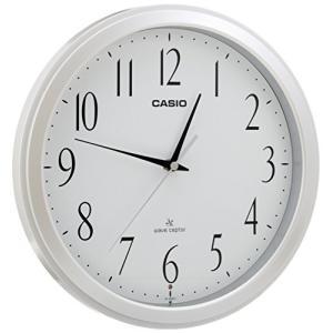 CASIO(カシオ) 掛け時計 電波 アナログ ウェーブセプター ホワイト IQ-1060J-7JF