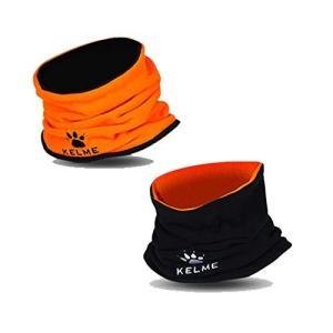 ケルメ(KELME) ネックウォーマー(ダブルサイド) K15Z910A 92 Fオレンジ/ブラック...