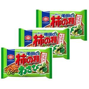 亀田製菓 亀田の柿の種わさび6袋詰 182g×3袋 亀田の柿の種