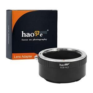 Haoge マニュアルレンズマウントアダプター Canon EOS EF EFS EF-Sレンズ用 ...