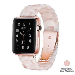 LS Apple Watch バンド/Apple Watch 4 バンドァッションな樹脂製アップルウ...
