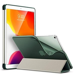 ESR iPad 10.2 ケース 第7世代 2019秋発売 TPU ソフトカバー 半透明 ラバーコ...