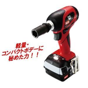 マックス電動工具  充電式ブラシレス インパクトレンチ セット  PJ-IW161-B2C/40A|ado-gu