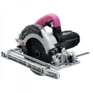 HiKOKI(日立工機) 深切り電子造作丸のこ C6UVY(SG) (ツインライト+スーパーチップソー(ブラック)+フッ素ベース付)|ado-gu