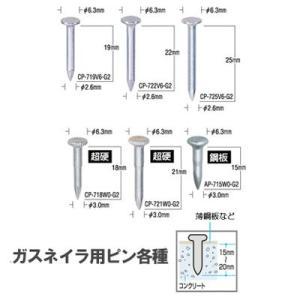 マックス(MAX) 超硬ピン(ガスネイラ用)(10本×100連) CP-721W0-G2(A)、GS-725C、738用|ado-gu