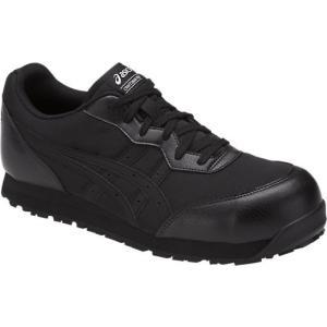 アシックス  安全靴ウィンジョブ CP201<FCP201-9090> 27.5cm ブラック×ブラック ado-gu