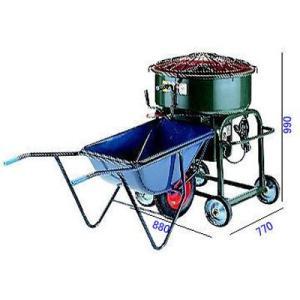マゼラー(mazelar) モルタルミキサー(モータータイプ)PM-20NH 送料無料(九州、沖縄、離島は除く)|ado-gu