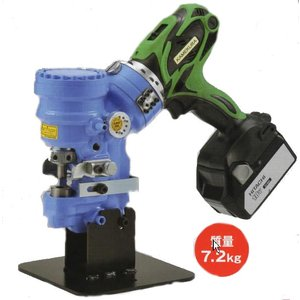 亀倉精機 充電式油圧式 コードレス ポートパンチャーRW-B1A|ado-gu