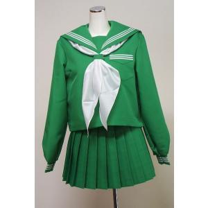 冬緑色セーラー服上下セット|ado-osaka