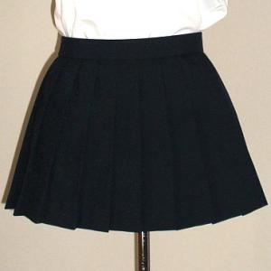 冬・紺プリーツスカート(25cm)|ado-osaka