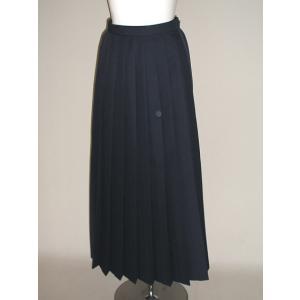 冬・紺プリーツスカート(90cm)|ado-osaka