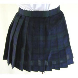 合・チェックプリーツスカート(30cm)|ado-osaka