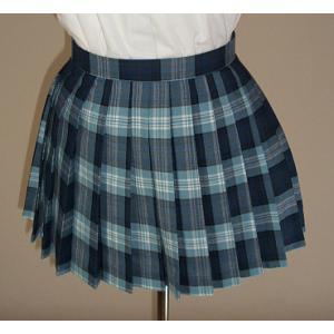 夏・チェックプリーツスカート(30cm)|ado-osaka