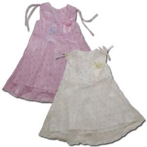 ワンピース お花の妖精 オーガンジーのふわふわ春物 子供服 女の子 85 95 100cm 春夏 クリアランスセール adorable