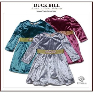 子ども服 パーティードレス 輝く私 高級ベロア(濠Du) 子供 服 輸入ブランドこども服 85〜110cm セール|adorable
